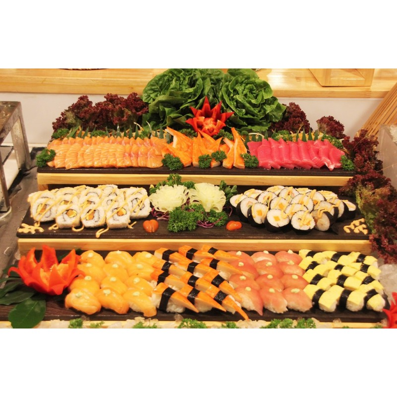 EARLY BIRD MEETING PACKAGE WITH INTERNATIONAL SEAFOOD LUNCH BUFFET